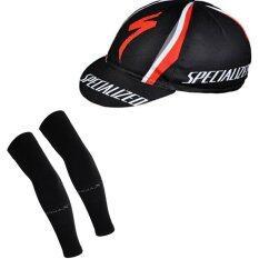 ขาย Super D Shopหมวกแก็ปจักรยาน Specialized กันเหงื่อ กันแดด ผ้าระบายกาศดี Gap1 Free Size Aqua X ปลอกแขนกันแดด กันยูวี สีดำ Free Size ใหม่