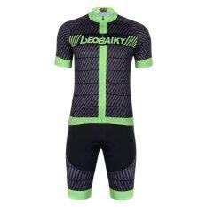 ราคา ชุดขี่จักรยานแขนสั้นกีฬาโพลีเอสเตอร์ฤดูร้อนจักรยานขี่จักรยานเสื้อผ้า นานาชาติ Unbranded Generic