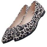 ซื้อ D79 Women Hot Flats Slippers Beige Leopard Color Lady Ballerina Fashion Casual Shoes ถูก จีน