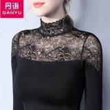 ราคา Danyu Bottoming เสื้อผ้าแฟชั่น เสื้อฤดูใบไม้ผลิและฤดูใบไม้ร่วงใหม่คอสูง สีดำ Unbranded Generic เป็นต้นฉบับ