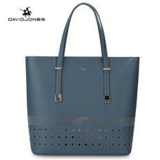 ทบทวน ที่สุด Davidjoens 2 Piece Women Hollow Out Tote Bag Adjustbletop Handle Should Bags Blue Intl