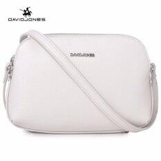 ส่วนลด Davidjones ผู้หญิงกระเป๋ากระเป๋าเงินขนาดเล็กหนังเทียมของเอกสารกระเป๋าไหล่กระเป๋ามินิกระเป๋าคลัทช์กระเป๋า สีเทา นานาชาติ David Jones ใน จีน
