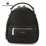 ราคา ราคาถูกที่สุด Davidjones Women Hollow Out Backpack Femal Shouldbag Intl