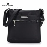 ราคา Davidjones Women Pu Shoulder Bags Purse Bag Femal Messenger Black Intl เป็นต้นฉบับ
