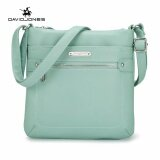 ขาย Davidjones Women Pu Shoulder Bags Purse Bag Femal Messenger Green Intl ถูก ใน จีน