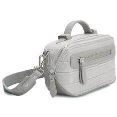 ขาย Davidjones Women Crossbody Bag Serpentine Messenger Gray เป็นต้นฉบับ