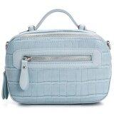 ความคิดเห็น Davidjones Women Crossbody Bag Serpentine Messenger Blue