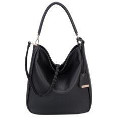 ขาย Davidjones Women Synthetic Leather Shoulder Bag Hobo Bag Intl David Jones ผู้ค้าส่ง