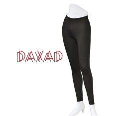 ขาย ซื้อ ออนไลน์ Daxad กางเกงขายาว กางเกงสกินนี่ Skinny ผ้ายืด ใส่ทำงาน ไร้ขอบ ซิปข้าง ผ้าญี่ปุ่น สีดำ