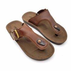 ราคา Deblu รองเท้าแตะหูคีบ เพื่อสุขภาพ M7811 Brown ออนไลน์