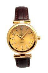 ซื้อ Debor นาฬิกาผู้หญิง Brown Gold สายหนัง รุ่น Debor Exit9 Brown Gold ถูก
