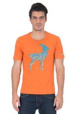 ราคา Delon เสื้อยืดคอกลม At53033 สีส้ม Delon ไทย