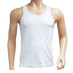 ซื้อ Delon Super Soft เสื้อกล้าม แพค 4 ตัว Ah53003 แพ็ค 4 ตัว สีขาว