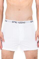 ส่วนลด Delon Super Soft กางเกง Boxer Ab53003 สีขาว ไทย
