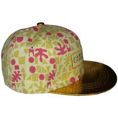 ราคา Diamond หมวกแก๊ป Style Hiphop รุ่น Cube Code สีทองชมพู เป็นต้นฉบับ Diamond