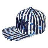 ทบทวน ที่สุด Diamond หมวกแก๊ป Style Hiphop รุ่น Pink สีขาวน้ำเงิน