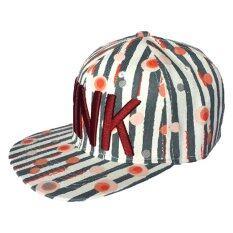 โปรโมชั่น Diamond หมวกแก๊ป Style Hiphop รุ่น Pink สีขาวส้ม ใน กรุงเทพมหานคร