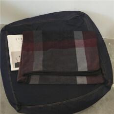 ขาย Djshop ผ้าคลุมกันหนาว ใช้แทนเสื้อกันหนาว น้ำตาลแดง ถูก