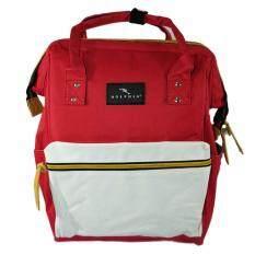 ขาย กระเป๋า กระเป๋าเป้ กระเป๋าสะพายหลัง Dolphin Bag รุ่น D 01 สีแดงขาว กรุงเทพมหานคร