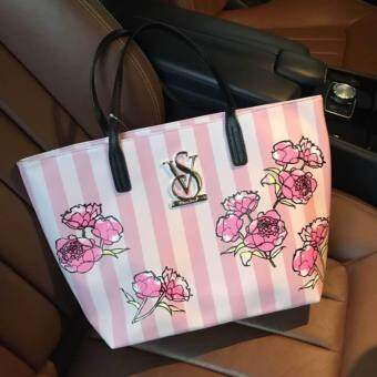 Don't Miss! Victoria's Secret Vintage Flower Print Shoulder Bag