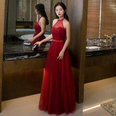 ส่วนลด ชุดราตรีสีแดงสำหรับผู้หญิงผอมบาง 825 ม่วงยาว D รุ่น 825 ม่วงยาว D รุ่น Unbranded Generic ใน ฮ่องกง