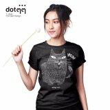 ราคา Dotdotdot เสื้อยืดผู้หญิง Concept Design ลาย Freak Cat Black Dotdotdot เป็นต้นฉบับ
