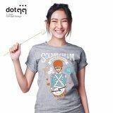 โปรโมชั่น Dotdotdot เสื้อยืดผู้หญิง Concept Design ลาย Soldier With Drum Grey ถูก