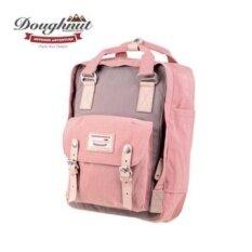 ราคา Doughnut Macaroon Unisex Waterproof Nylon Backpack Pink X Grey Intl เป็นต้นฉบับ Unbranded Generic