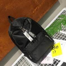 ซื้อ Dplus กระเป๋าเป้สะพาย หลังผู้หญิง รุ่นใหม่ยอดฮิตผ้ารมกันนำ้ได้ สีดำ 032 ออนไลน์ ถูก