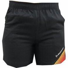 DUNLOP กางเกงแบดมินตัน รุ่น BADMINTON SHORTS (สีดำ/สีแดง)