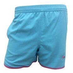 DUNLOP กางเกงเทนนิส DUNLOP LADIES SHORTS BLUE/PINK DAP16SW01D XL