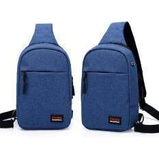 ราคา Dxyizu กระเป๋าคาดอก กระเป๋าสะพายไหล่ ผ้า Oxford รุ่น 0503 Fashion Bag ไทย