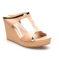 ขาย ซื้อ Ease รองเท้าส้นเตารีด รุ่น 13 12 Tan Thailand