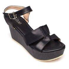 ราคา Ease รองเท้าส้นเตารีด รุ่น Nf100 19 Black ใหม่ล่าสุด