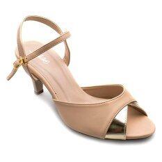 ขาย ซื้อ Ease รองเท้าส้นสูง รุ่น P115 09 Tan Thailand