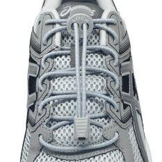 ขาย เชือกรองเท้า เชือกผูกรองเท้า ไม่ต้องผูก รองเท้า Lock Laces No Tie Elastic Shoe Laces Lock And Clip For Custom Fit Gray ออนไลน์ Thailand