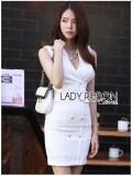 ขาย Elisa Thailand เสื้อผ้าแฟชั่นสไตล์เกาหลี Lady Ribbon S Made Lady Charlotte Smart And S*xy Sleeveless Suit Dress Lady Ribbon ออนไลน์