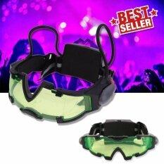 โปรโมชั่น Elit แว่นตา Led มองกลางคืน แว่นตาปาร์ตี้ แว่นตาเล่นบีบีกัน แว่นตาสาย Edm Night Vision Goggles