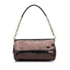 ขาย Embossed Shoulder Bag Genuine Leather Women Bags Crossbody Bag Brown จีน ถูก