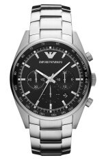 ทบทวน Emporio Armani นาฬิกาข้อมือผู้ชาย สีเงิน สายสเเตนเลส รุ่น Ar5980