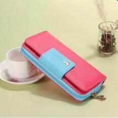 ทบทวน Encounter มาใหม่กระเป๋าสตางค์แบรนด์คุณภาพสูงกระเป๋าสตรีผู้หญิง สีชมพู