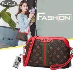 ราคา Jvgood กระเป๋าสะพายข้าง กระเป๋าเป้ผ้าไนลอน Leather Handbag ใน จีน