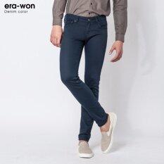 ขาย ซื้อ Era Won กางเกงยีนส์ทรงเดฟ รุ่น Denim Color สี Dark Navy ใน ปทุมธานี