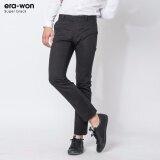 ซื้อ Era Won กางเกงสแลคขายาว ทรงกระบอกปกติ รุ่น Super Black สีดำ Black ถูก ใน ปทุมธานี