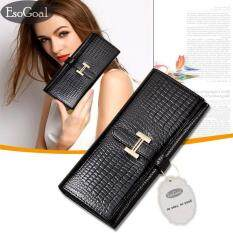 ราคา Esogoal กระเป๋าสตางค์ใบยาวกระเป๋าเงินผู้หญิงกระเป๋าสตางค์ผู้หญิงรุ่นแฟชั่นกระเป๋าสตางค์หนังผู้หญิง Esogoal ออนไลน์