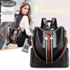 ขาย Esogoal Women S Pu Leather Backpack กระเป๋าเป้สะพายหลัง กระเป๋าสะพายหลังผู้หญิง Backpack Women จีน ถูก