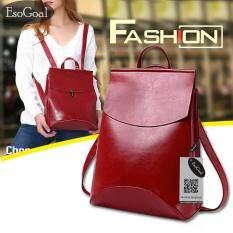 ราคา Esogoal Women S Pu Leather Backpack กระเป๋าเป้สะพายหลัง กระเป๋าสะพายหลังผู้หญิง Backpack Women เป็นต้นฉบับ
