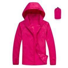 ราคา เสื้อกันยูวี 100 พร้อมถุงใส่พกพา Anti Uv Jacket Thailand