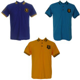 ซื้อ เสื้อโปโลแพ๊ค3 ปักเลข 8 แขนขวา สีน้ำเงิน สีฟ้า สีเหลือง ปักหน้าอกสิงห์ ถูก ใน กรุงเทพมหานคร