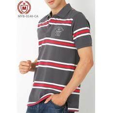 ขาย เสื้อโปโลมอส Striped Shirt ถูก ใน กรุงเทพมหานคร